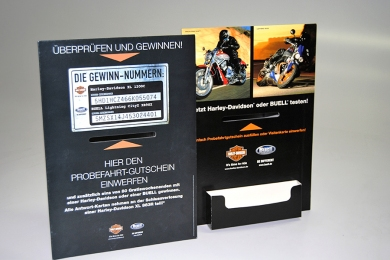 Displays Kartonage Harley Davidson