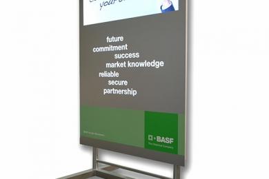 Display Metall BASF
