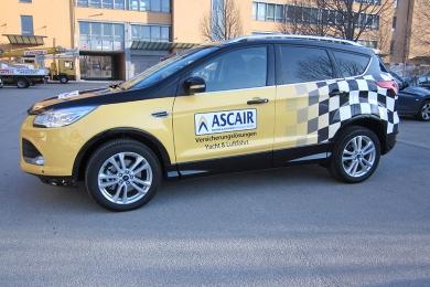Folientechnik Fahrzeugbeklebung Ascair