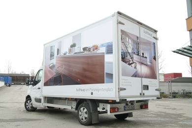 Folientechnik Fahrzeugbeklebung bulthaup