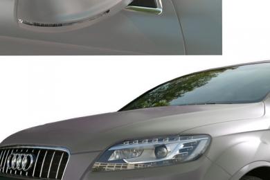 Fahrzeugvollverklebung Grau Matt