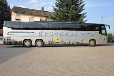 Folienbeklebung Fahrzeuge Bus Speckner