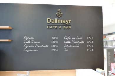 POS SHOP DESIGN Dallmayr Bar