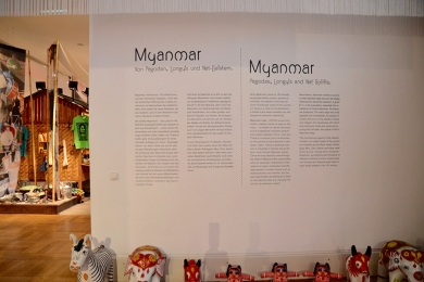 Völkerkundemuseum Museumsinstallationen