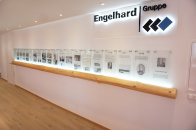 Installation Chronik Engelhard Gruppe